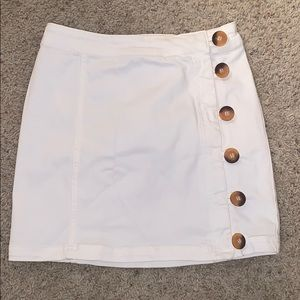 Free People Little Daisies skirt